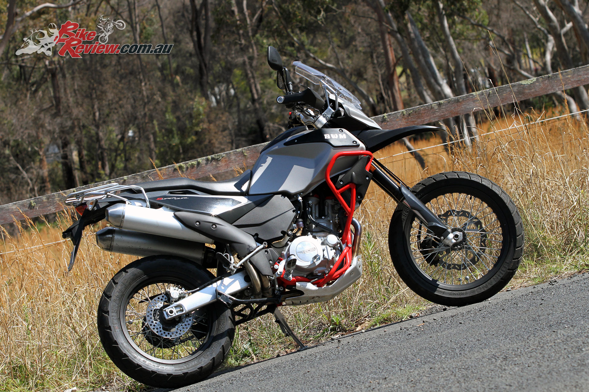 SWM's 650 SuperDual is the road going variant and is LAMS legal