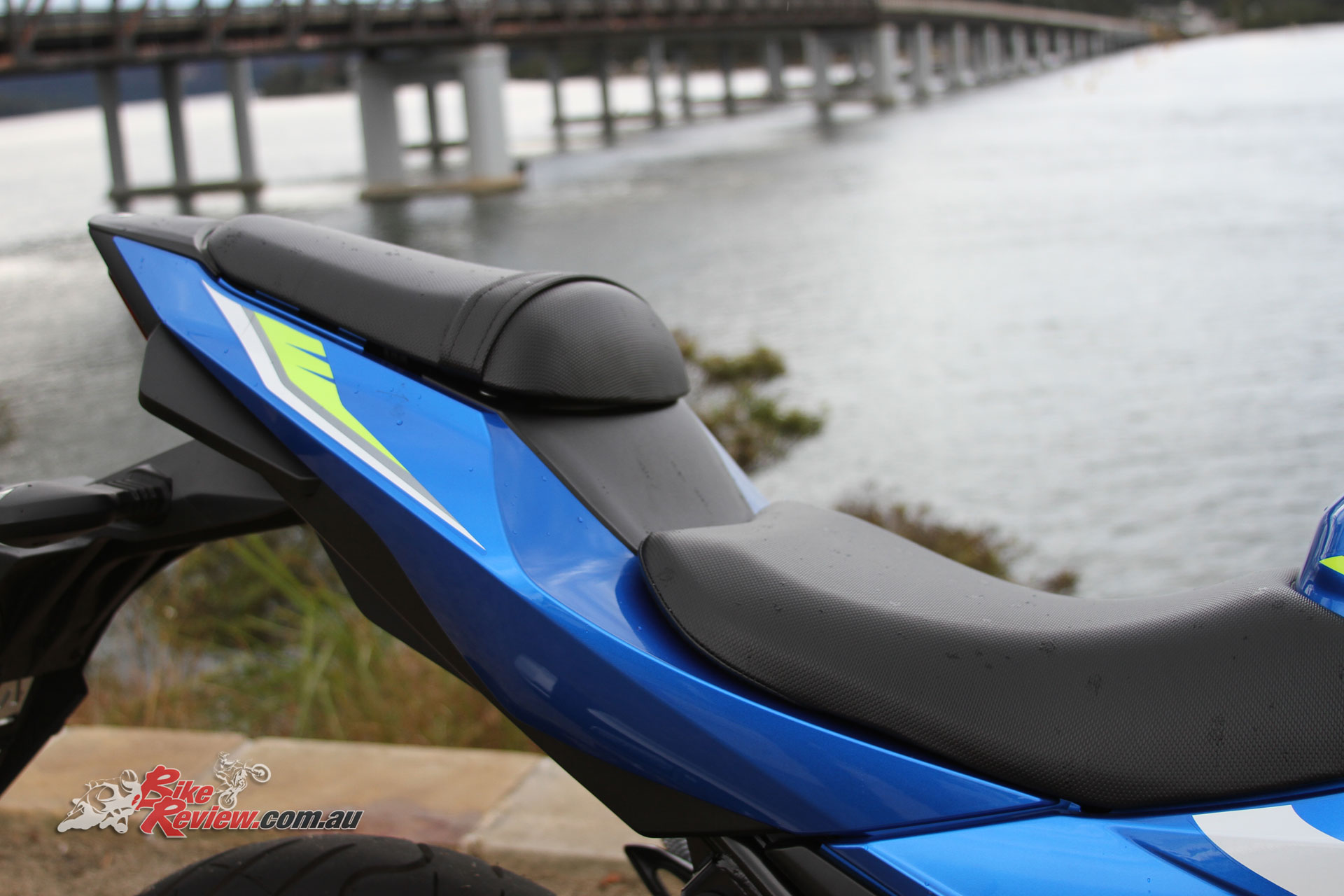 A low 790mm seat height feels very close to the ground with a compact seating position and reach to the 'bars