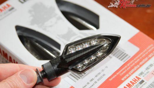 Staff Bike: Yamaha MT-07 Tracer LED indicator install