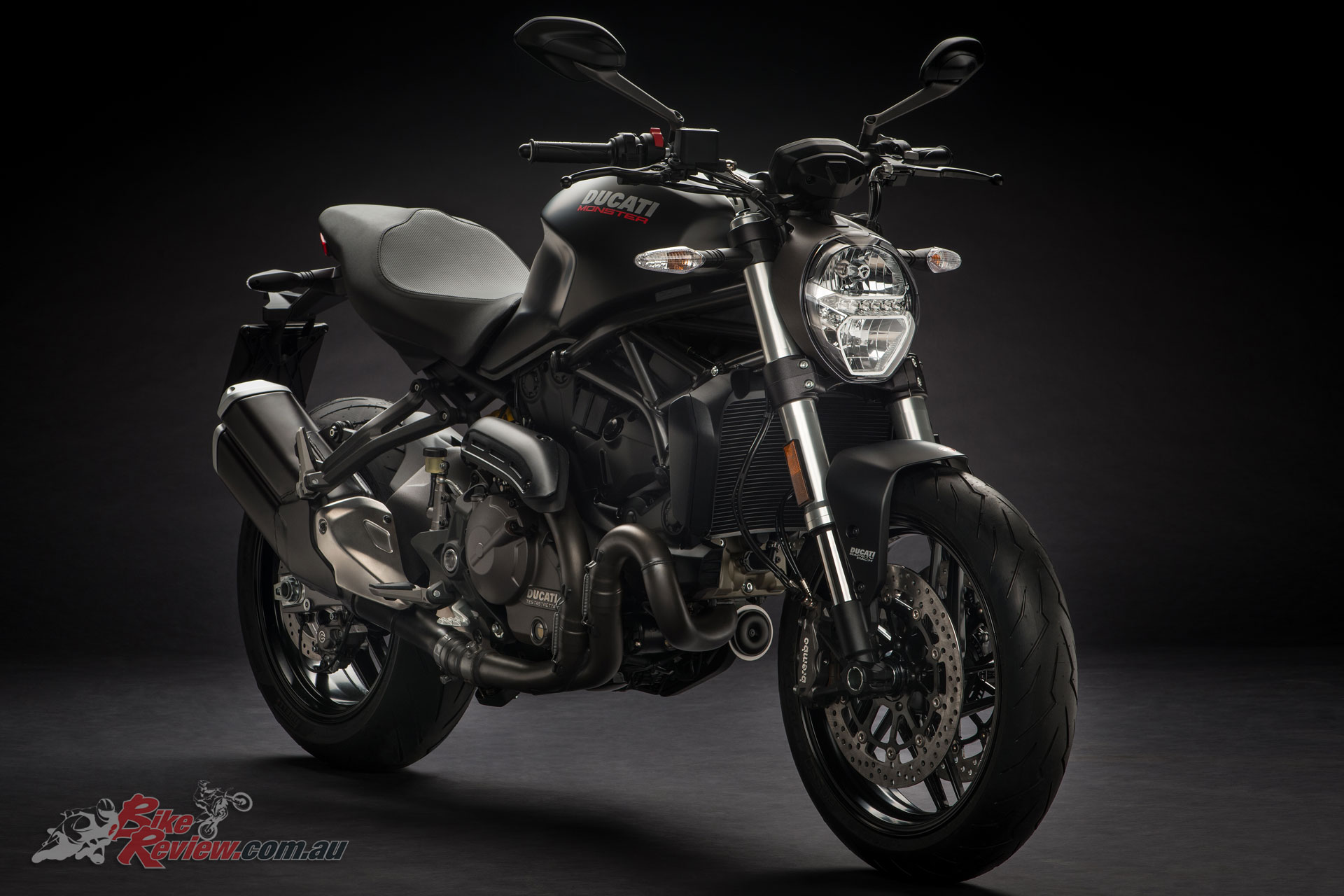 Ducati unveil 2018 Monster 821 for Monster's 25th ...  Ducati unveil 2...