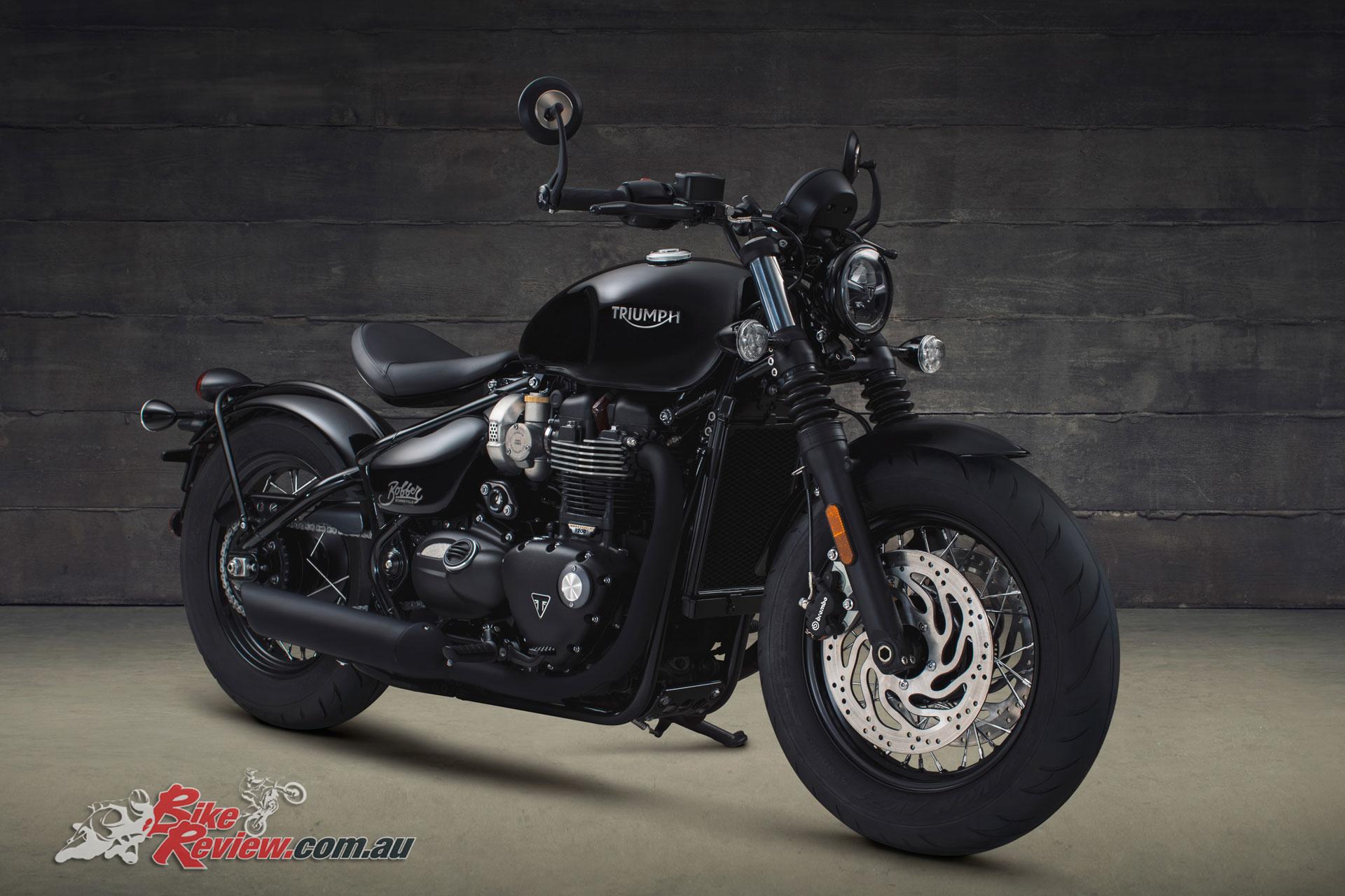 Triumph Announce 2018 Bonneville Bobber Black Bike Review