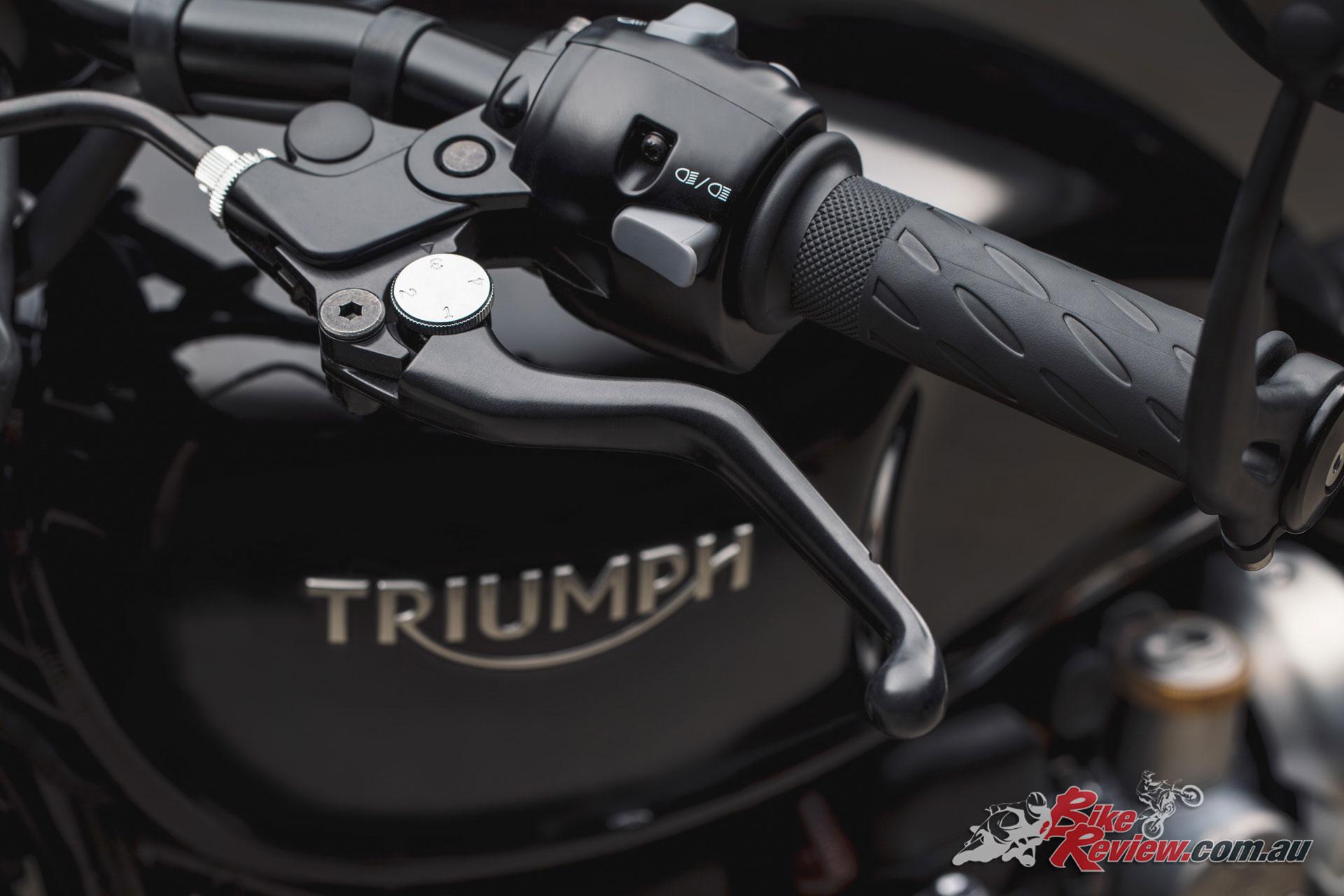 2018 Triumph Bonneville Black