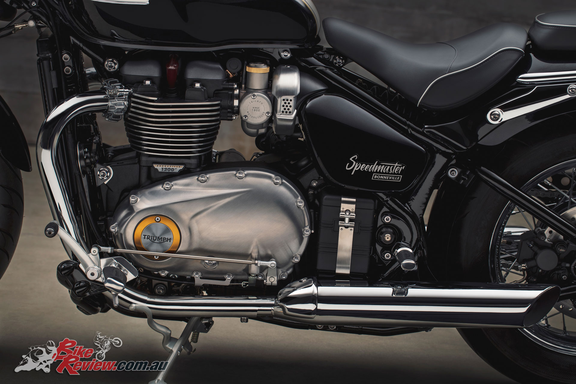 Massive performance gains over the 2015 Speedmaster model in both torque and horsepower