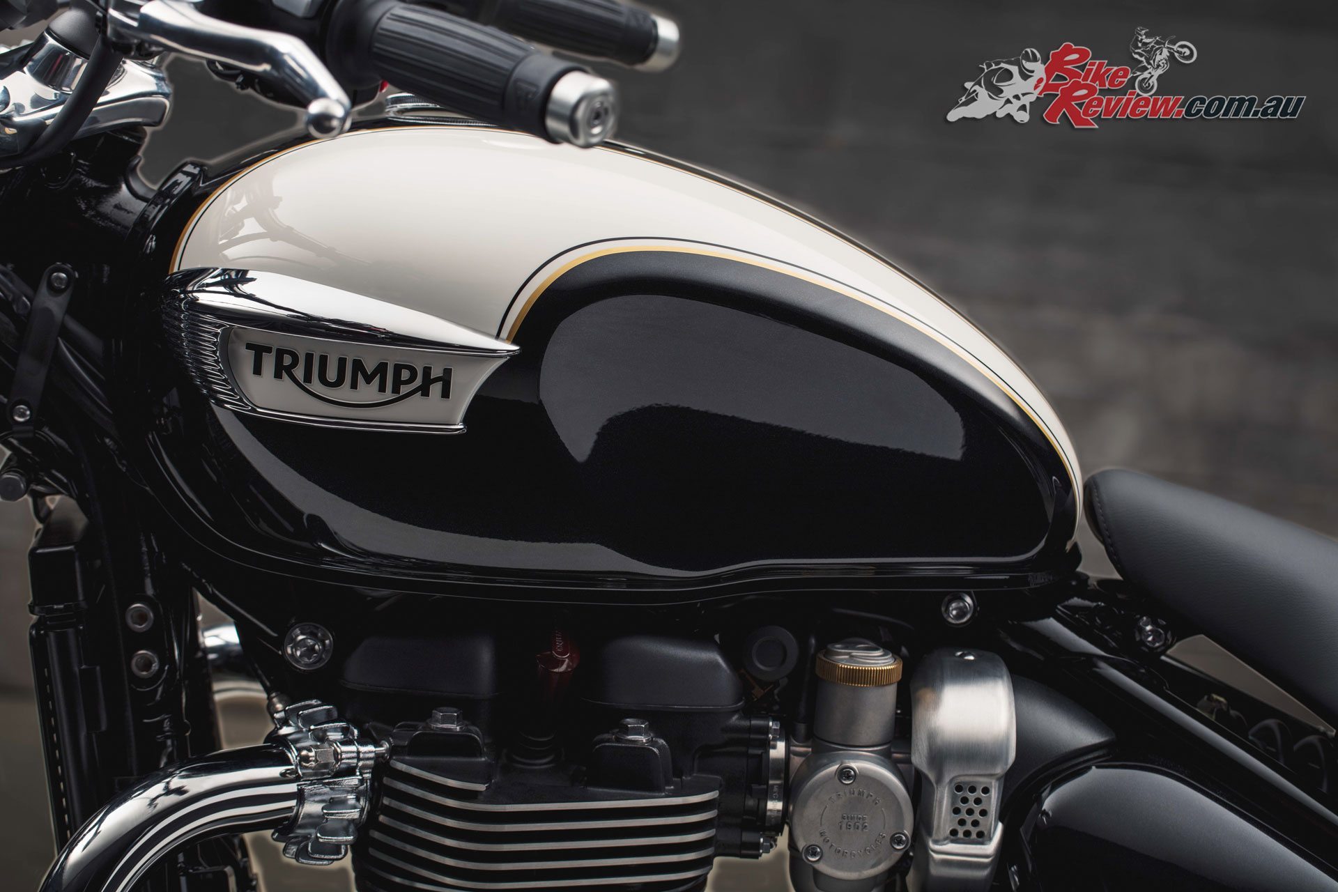 Featuring iconic Triumph, British and Bobber DNA