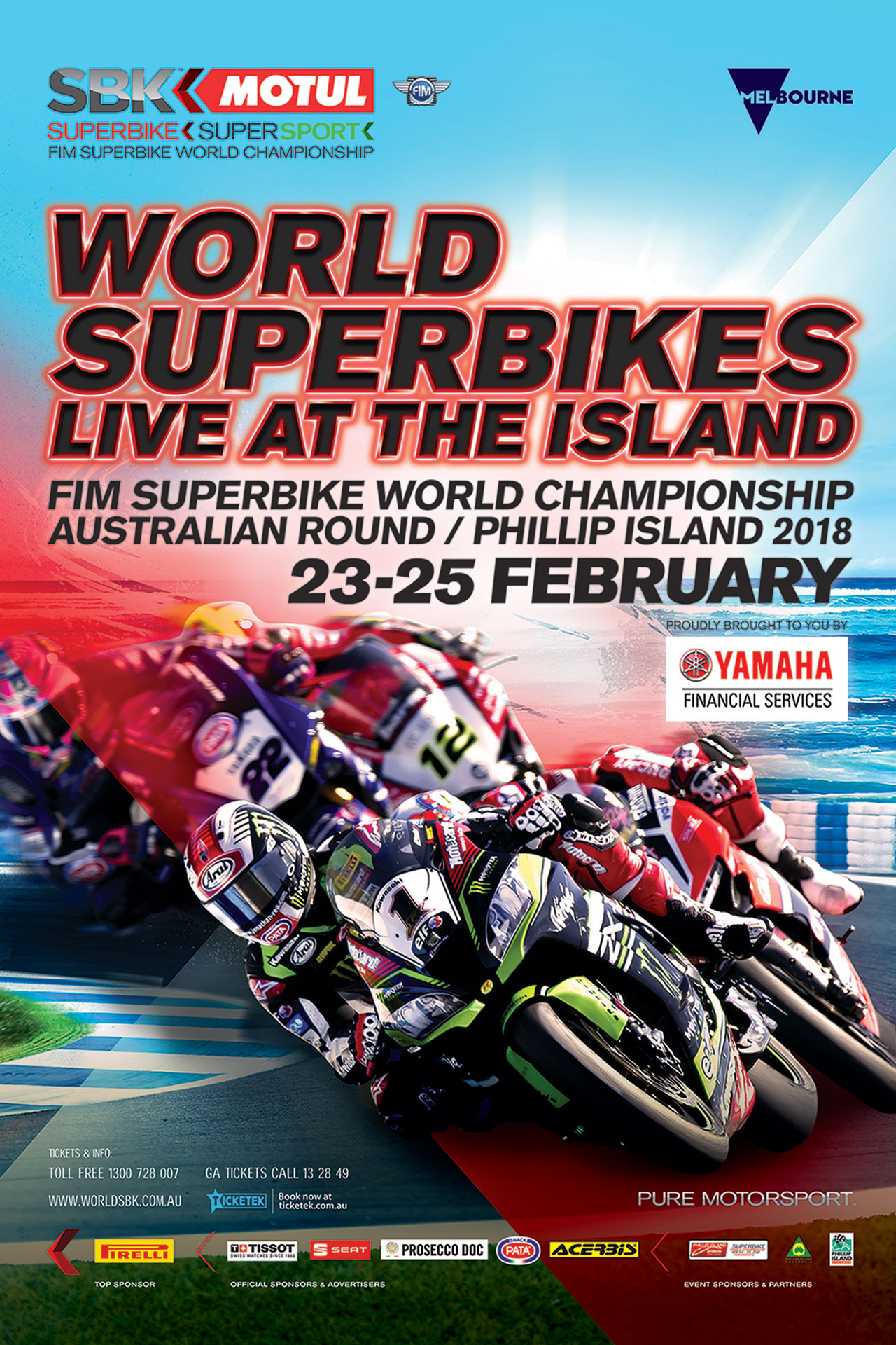 WorldSBK returns to PI in 2018 - Tickets on sale now! - Bike Review