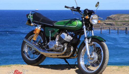 Classic Restoration: 1974 Kawasaki H1 500