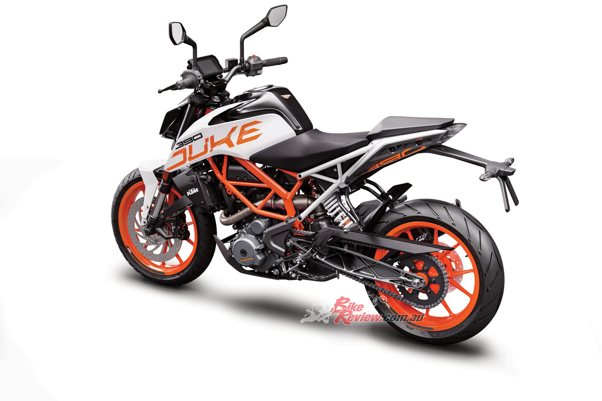 This truly is the mini-Super Duke, with great thrills and an extremely light overall weight