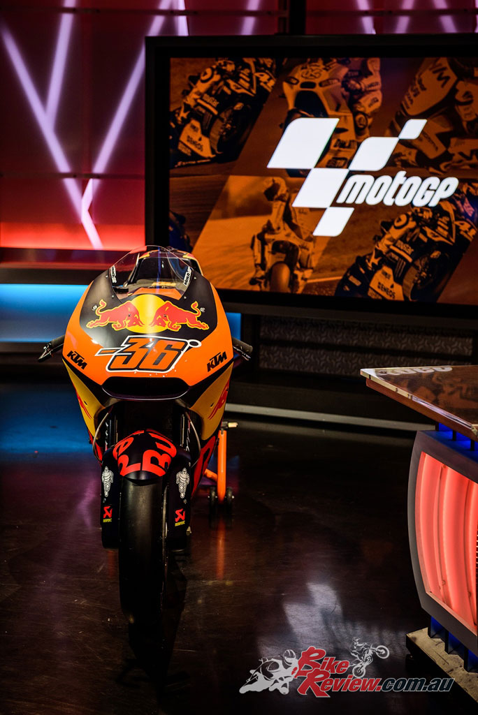 The Red Bull KTM Factory Racing RC16 at Fox Sport's studio - Image by Danny Wilkinson