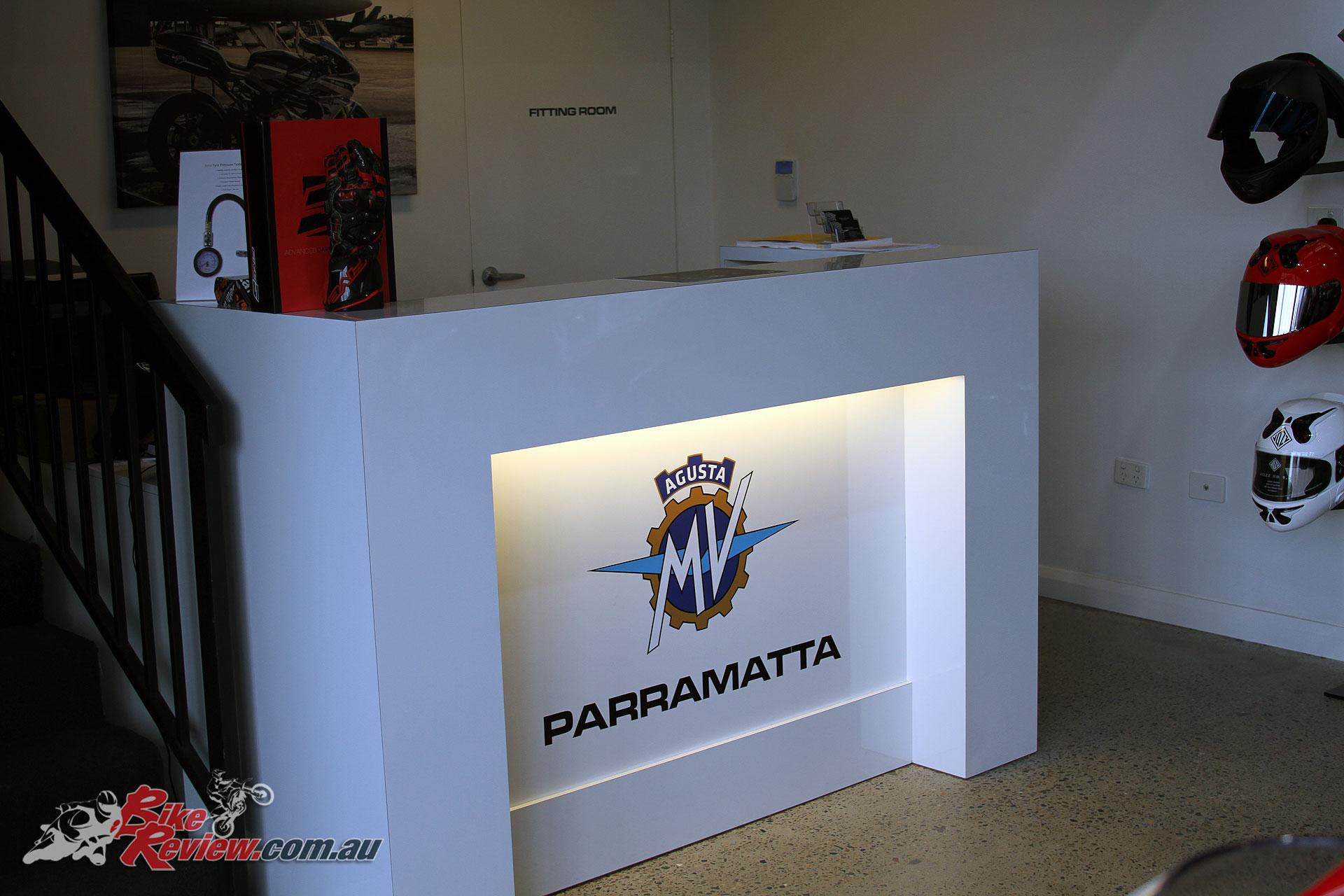 MV Agusta Parramatta