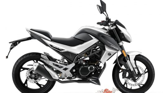 CF Moto 150NK available for $3,290 R/A with Helmet, Jacket