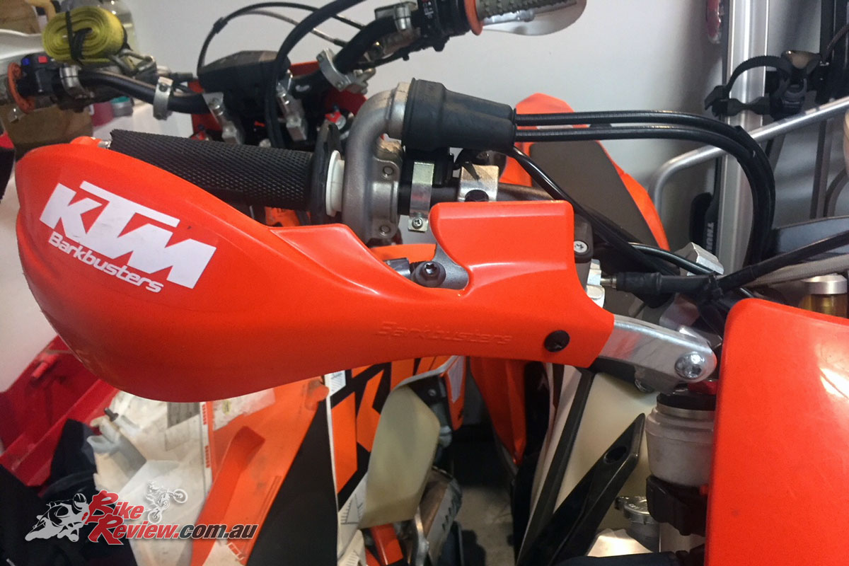 KTM Barkbusters hand guards