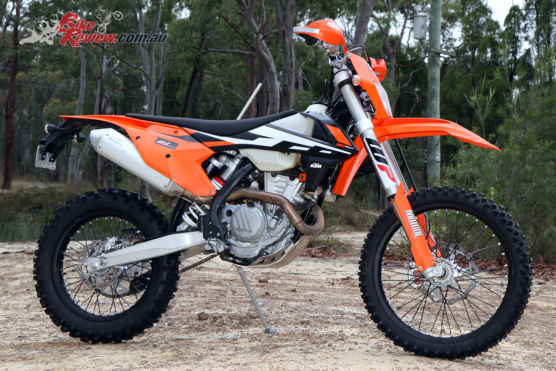 The 2017 KTM 350 EXC-F has proved to be an awesome middleweight bike over the past four months.