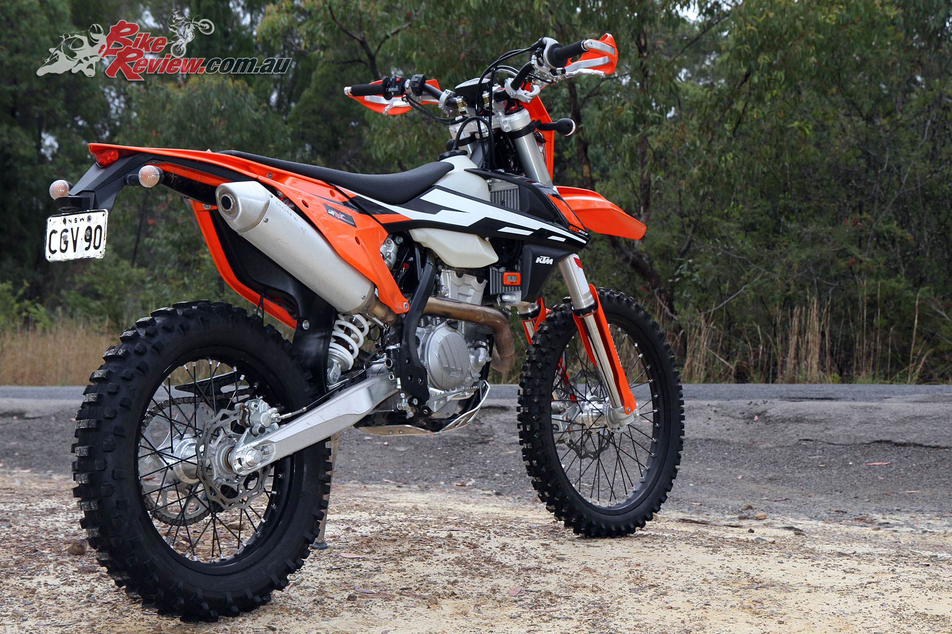 Ktm Exc  Wet Weight