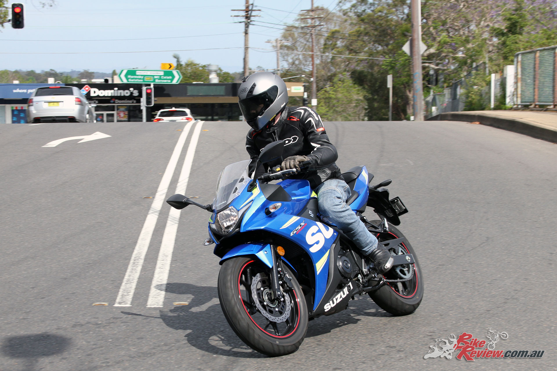 The GSX250R is an ideal around towner, and is stable, light and predictable