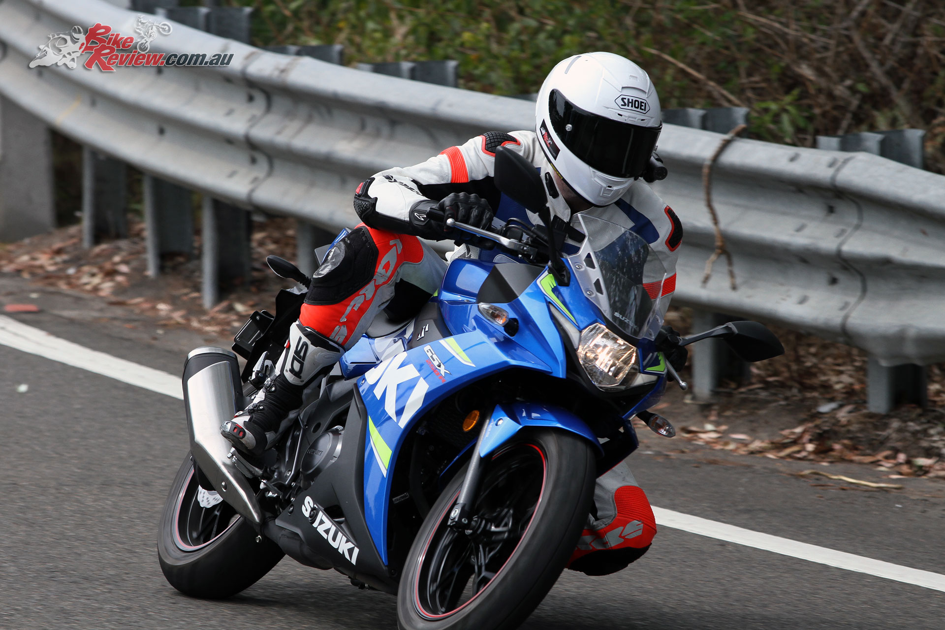 Learner options now are easier to ride, and the GSX250R can be punted along.