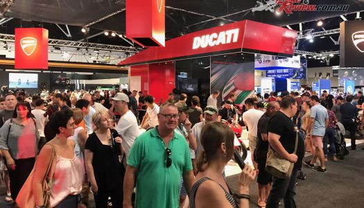 Strong crowds herald 2017 Sydney Motorcycle Show a success