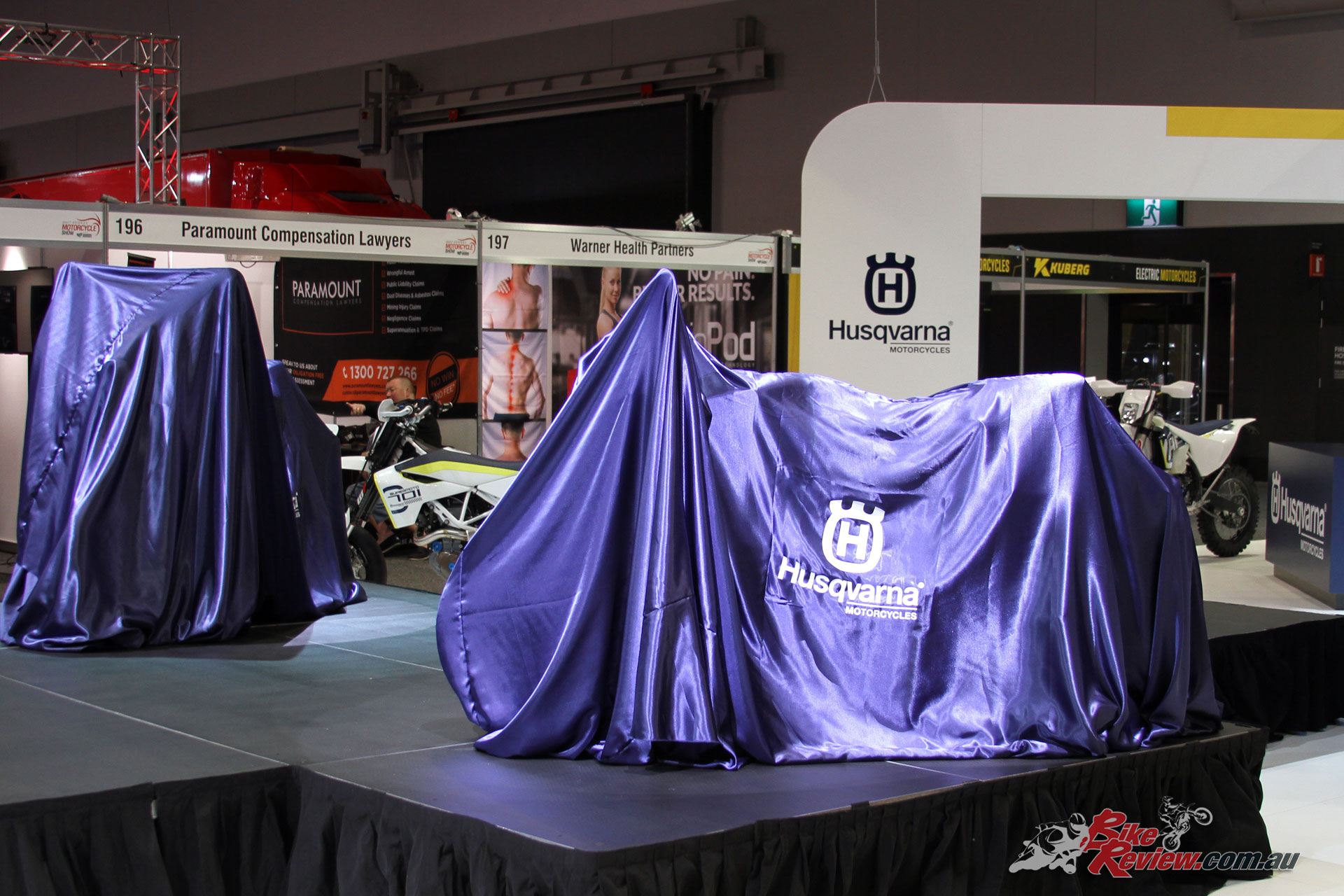 Husqvarna introduced their exciting new road offerings - Look familiar? They were shown as prototypes at EICMA last year