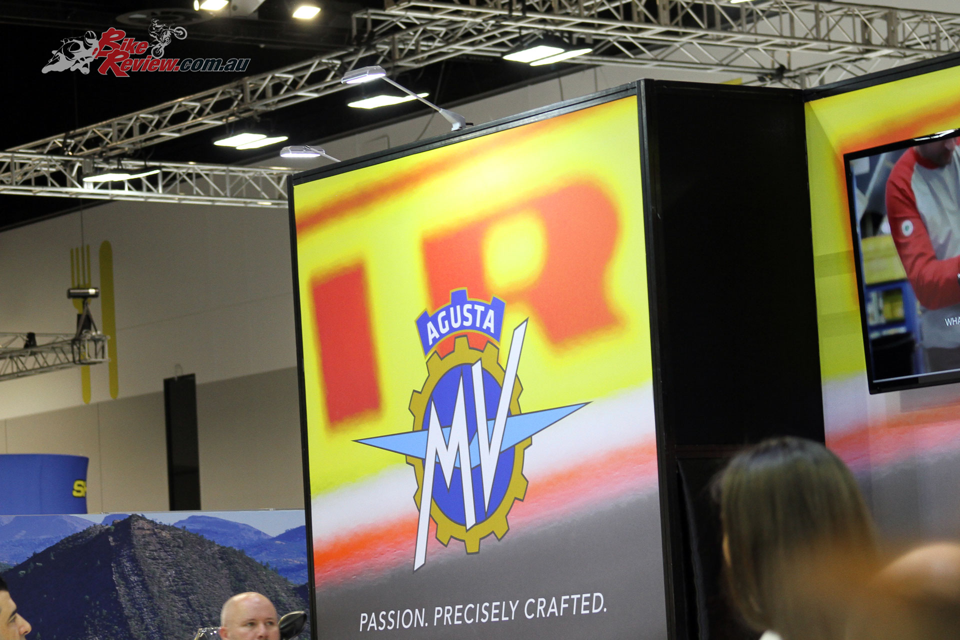 MV Agusta displayed their latest offerings