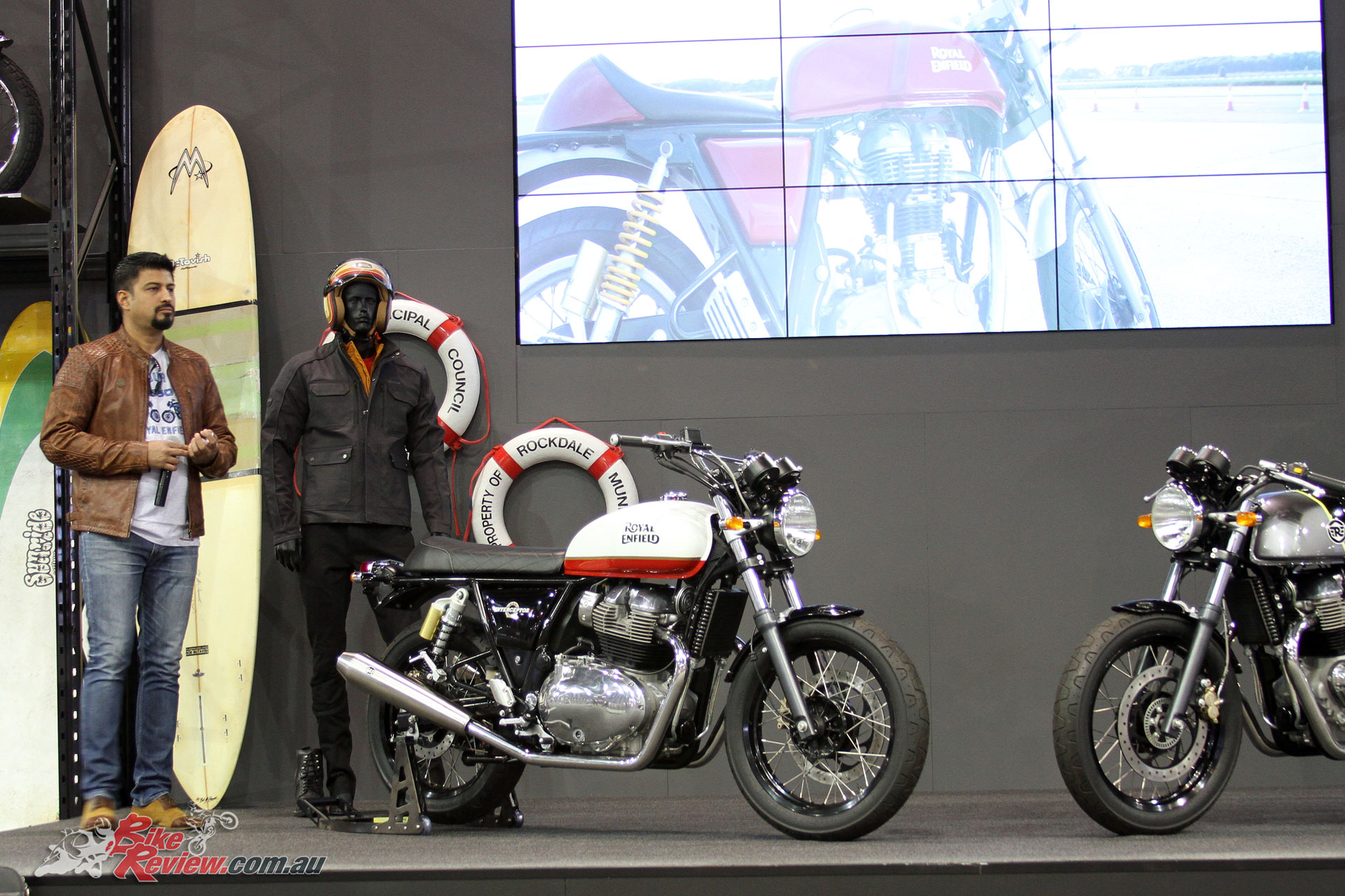 Royal Enfield introduced the Continental GT 650 and Interceptor INT 650