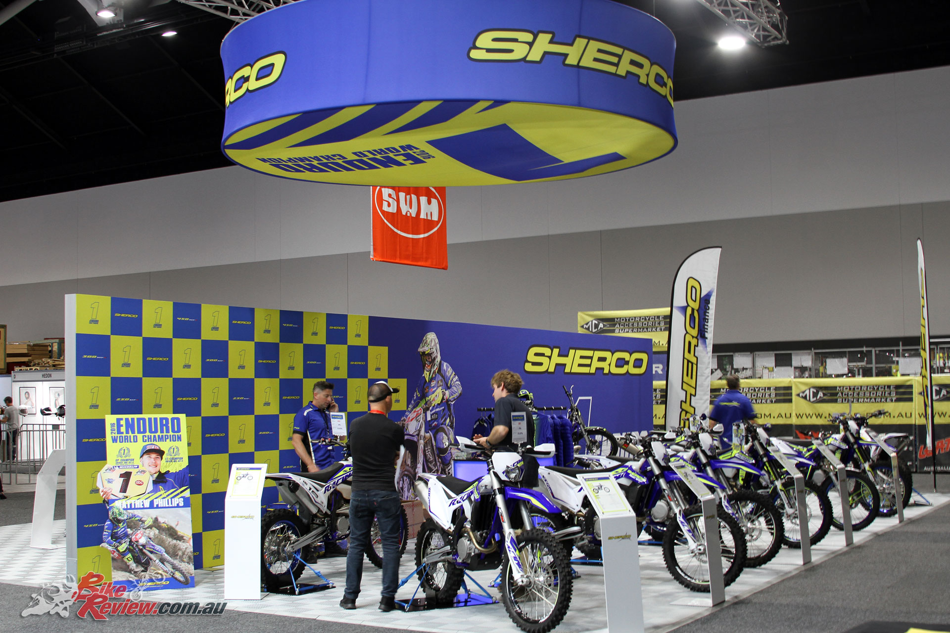 Sherco introduced their 125 SE-R