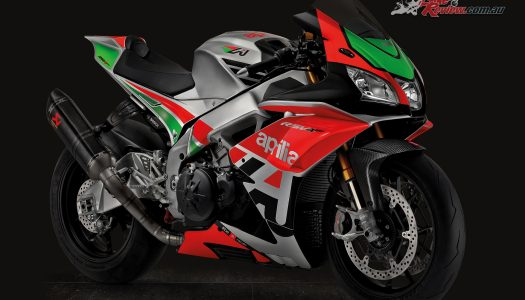 Aprilia unveil Factory Works Kit and new colours
