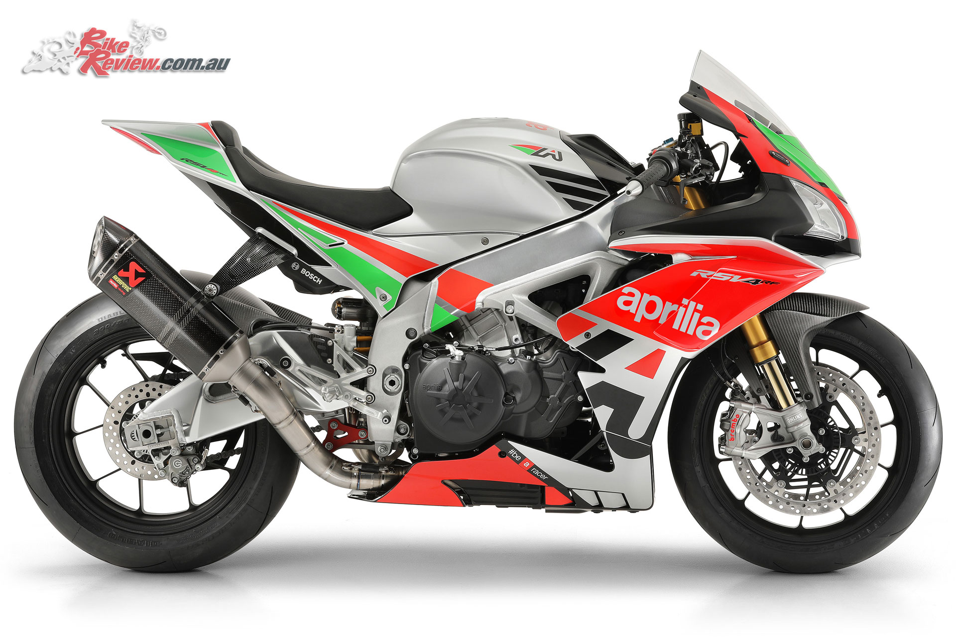 The 2018 Aprilia Racing Factory Works Kit