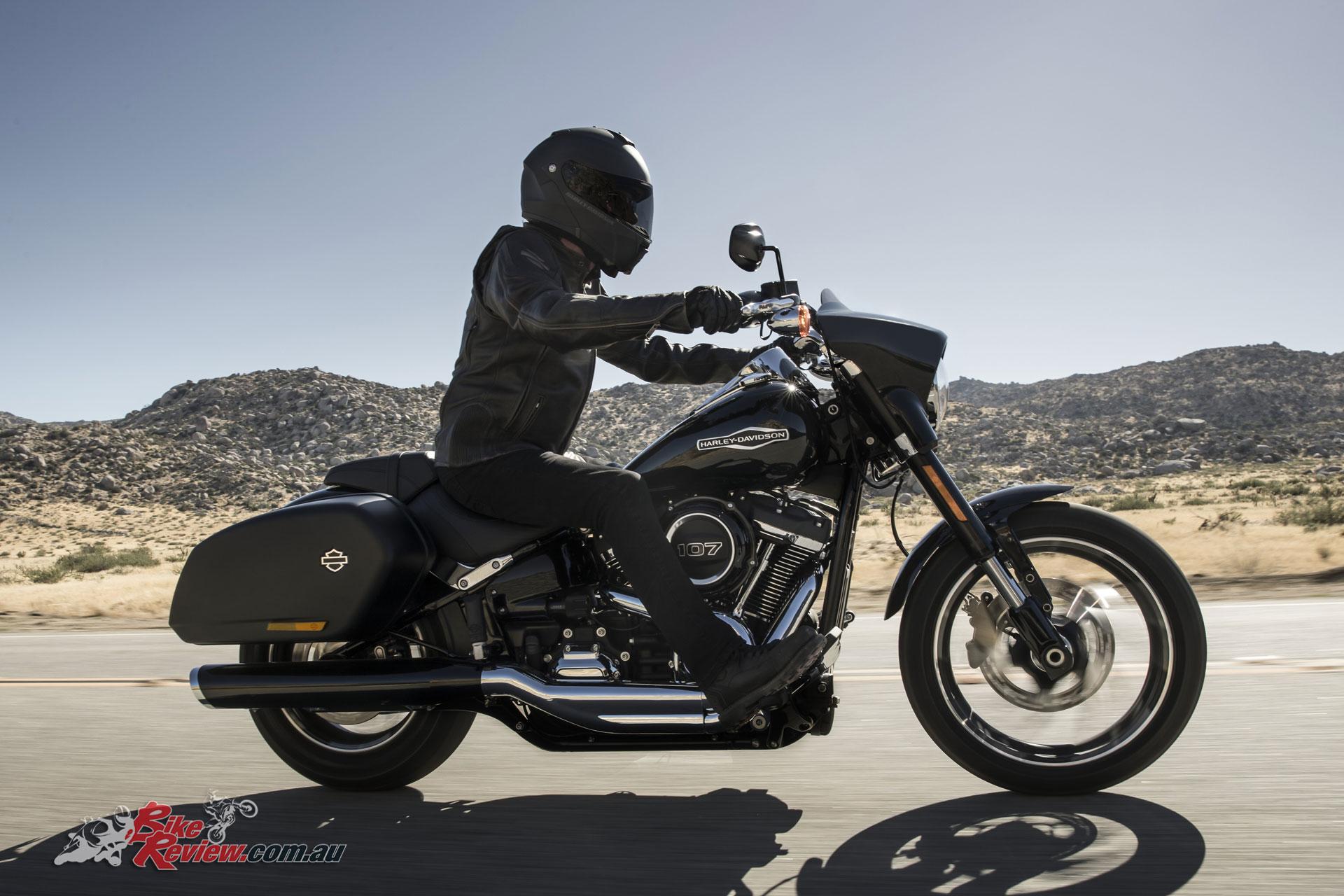 2018 Harley-Davidson Softail Sport Glide unveiled - Bike ...