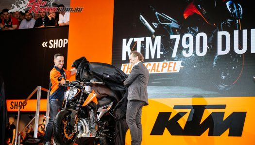 KTM unveil 790 Duke, 790 Adventure R & 450 Rally at EICMA