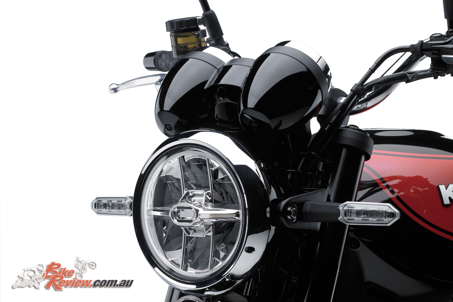 A 170mm front LED headlight is also featured