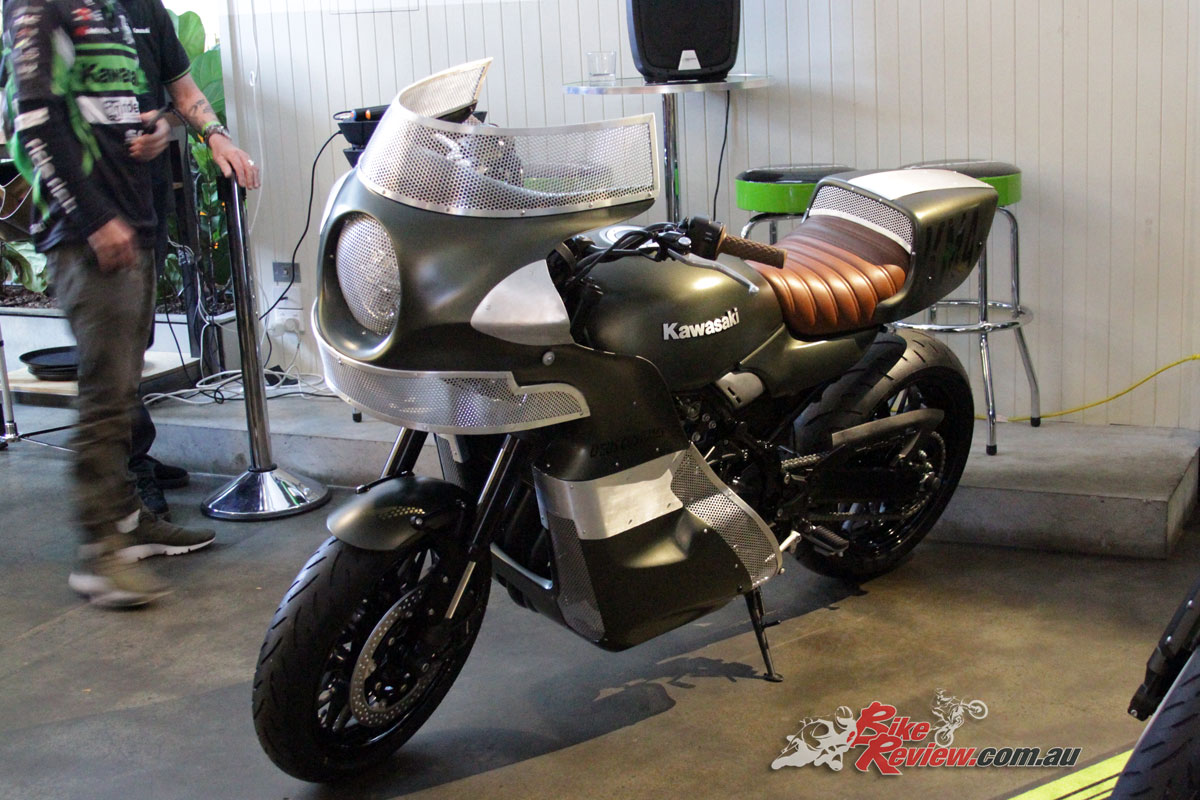 Kawasaki Australia also had Deus ex Machina create custom bikes for the launch and the up-coming Sydney Motorcycle Show, based on the Z900RS