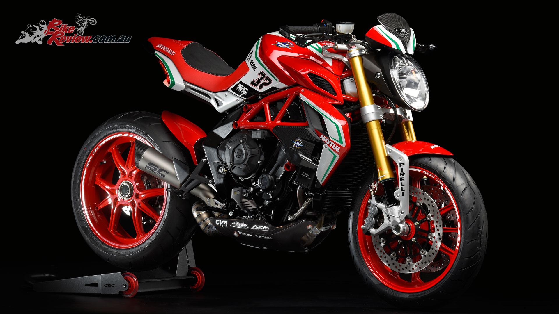 2018 mv agustas f3 rc dragster rc brutale 800 rr pirelli bike review. Black Bedroom Furniture Sets. Home Design Ideas