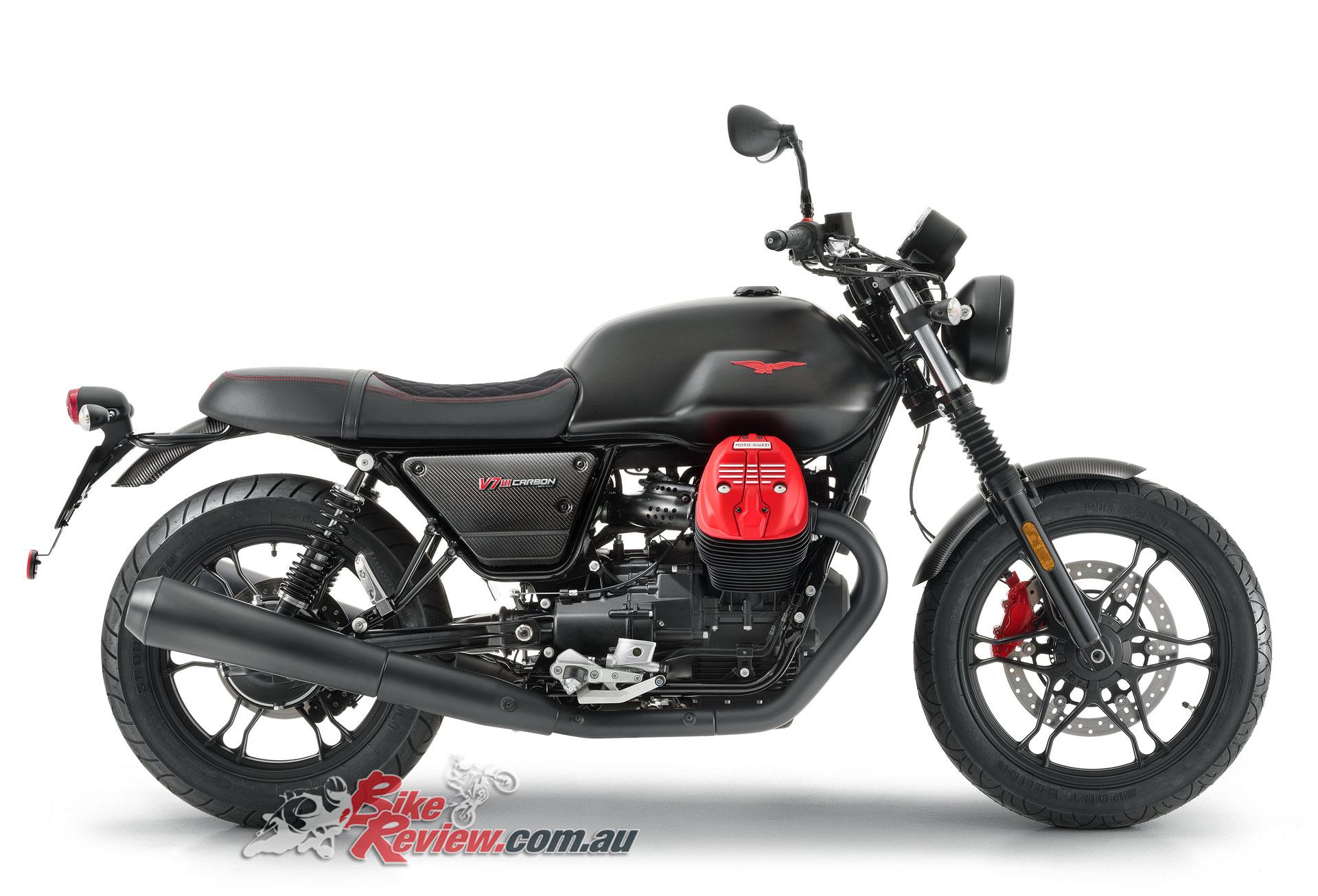 2018 Moto Guzzi V7 III Carbon
