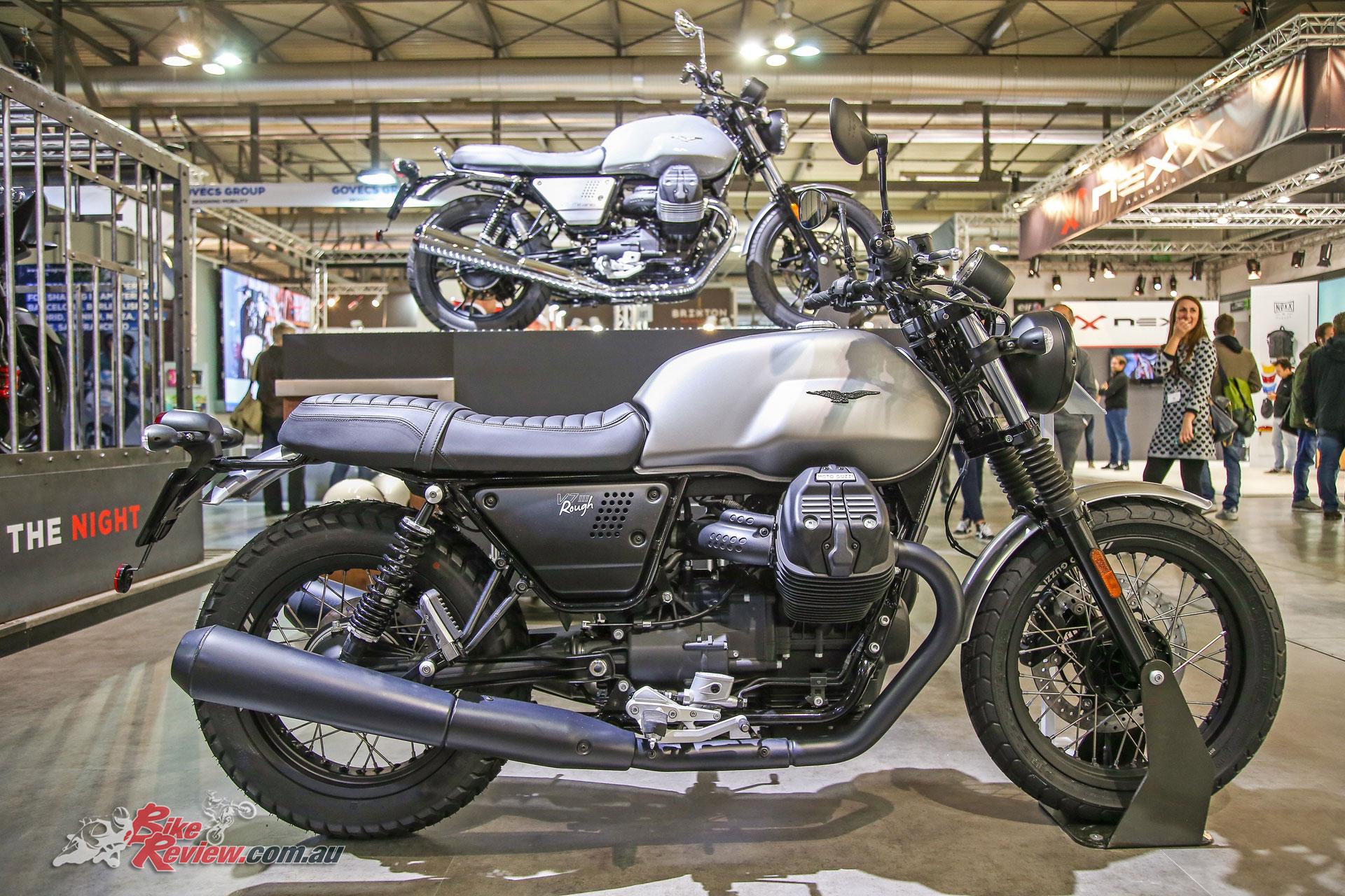 moto guzzi unveils updates for 2018 models bike review. Black Bedroom Furniture Sets. Home Design Ideas