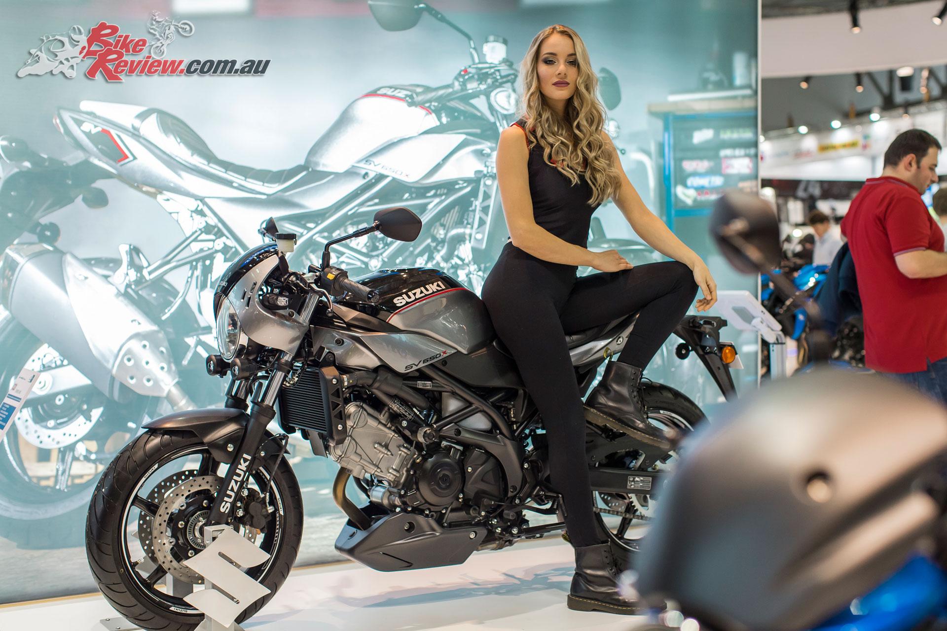 The 2018 Suzuki SV650X