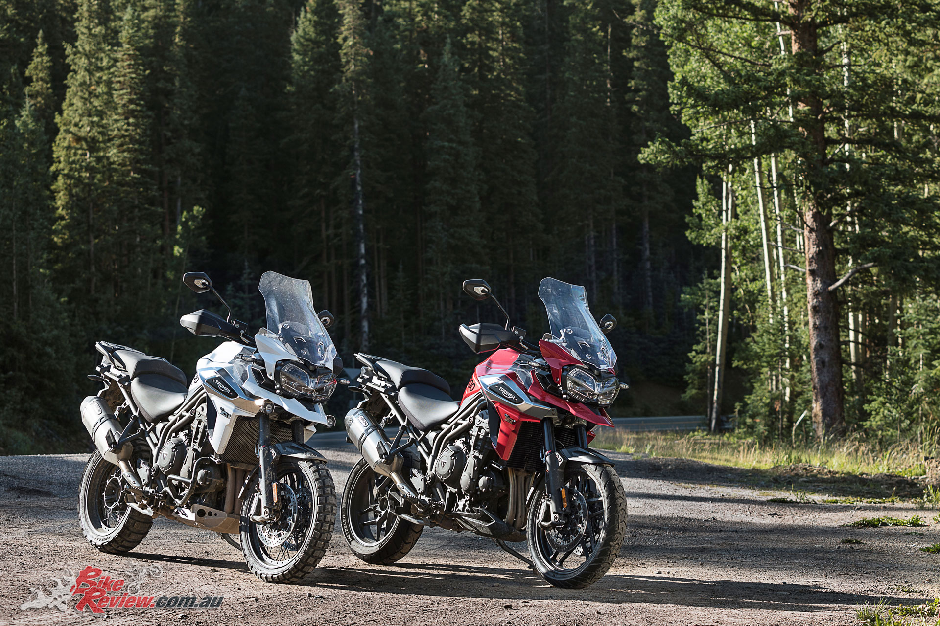 2018 Triumph Tiger 1200 XCA and XR