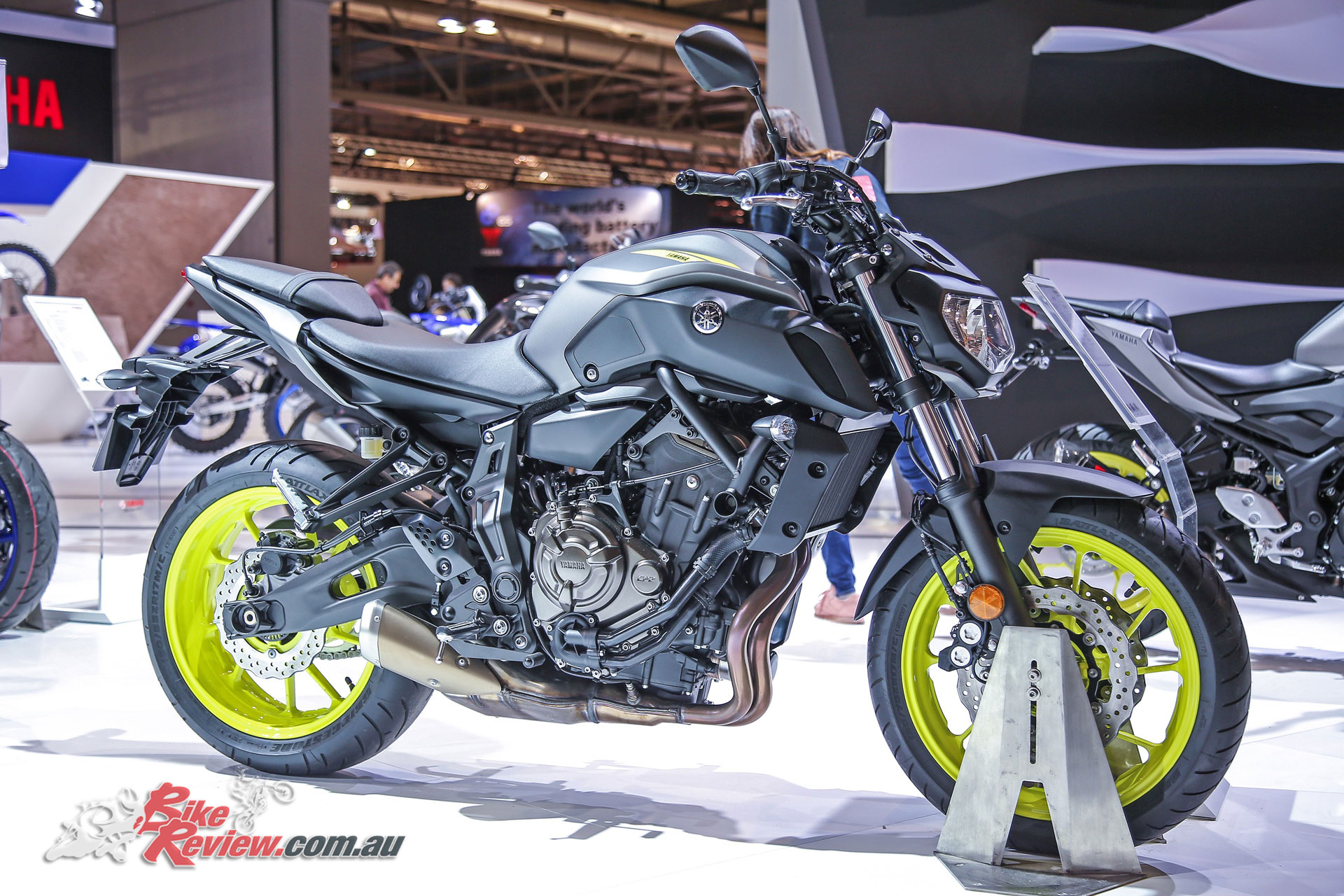The MT-07 was also updated, as was the YZF-R1M, and a Super Tenere Raid Edition was announced