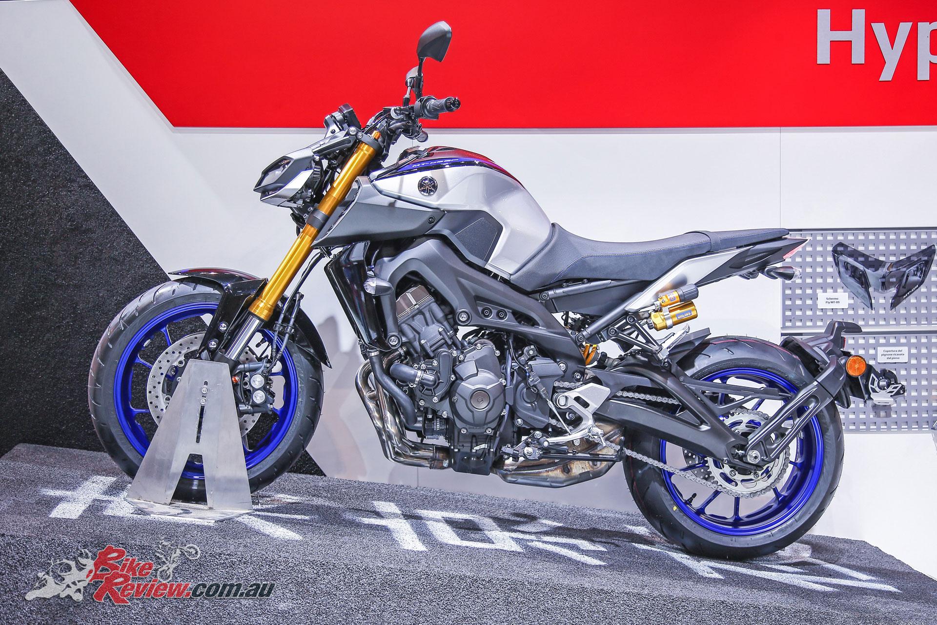 2018 Yamaha MT-09 SP at EICMA
