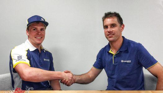 Sanders to Husqvarna Factory Off-Road Racing Team