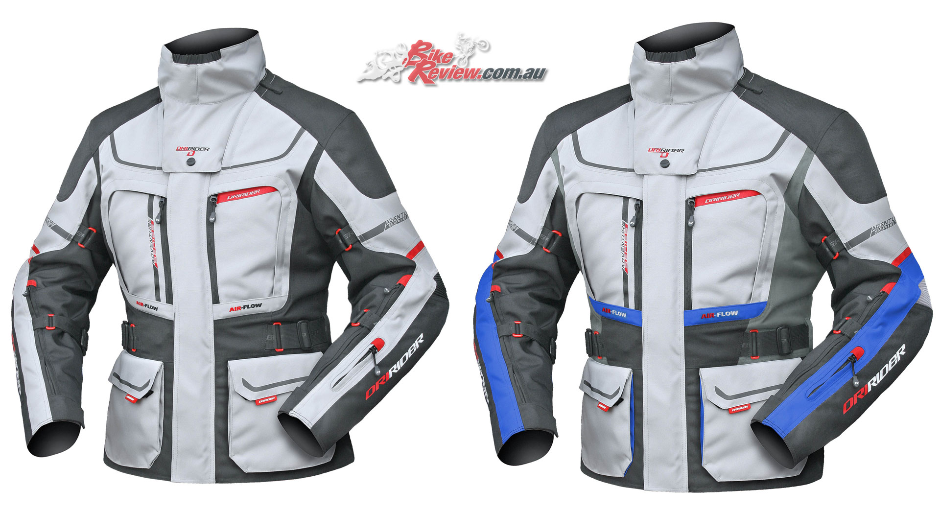 DriRider Vortex Adventure 2 Jacket (Ladies left, men's right)