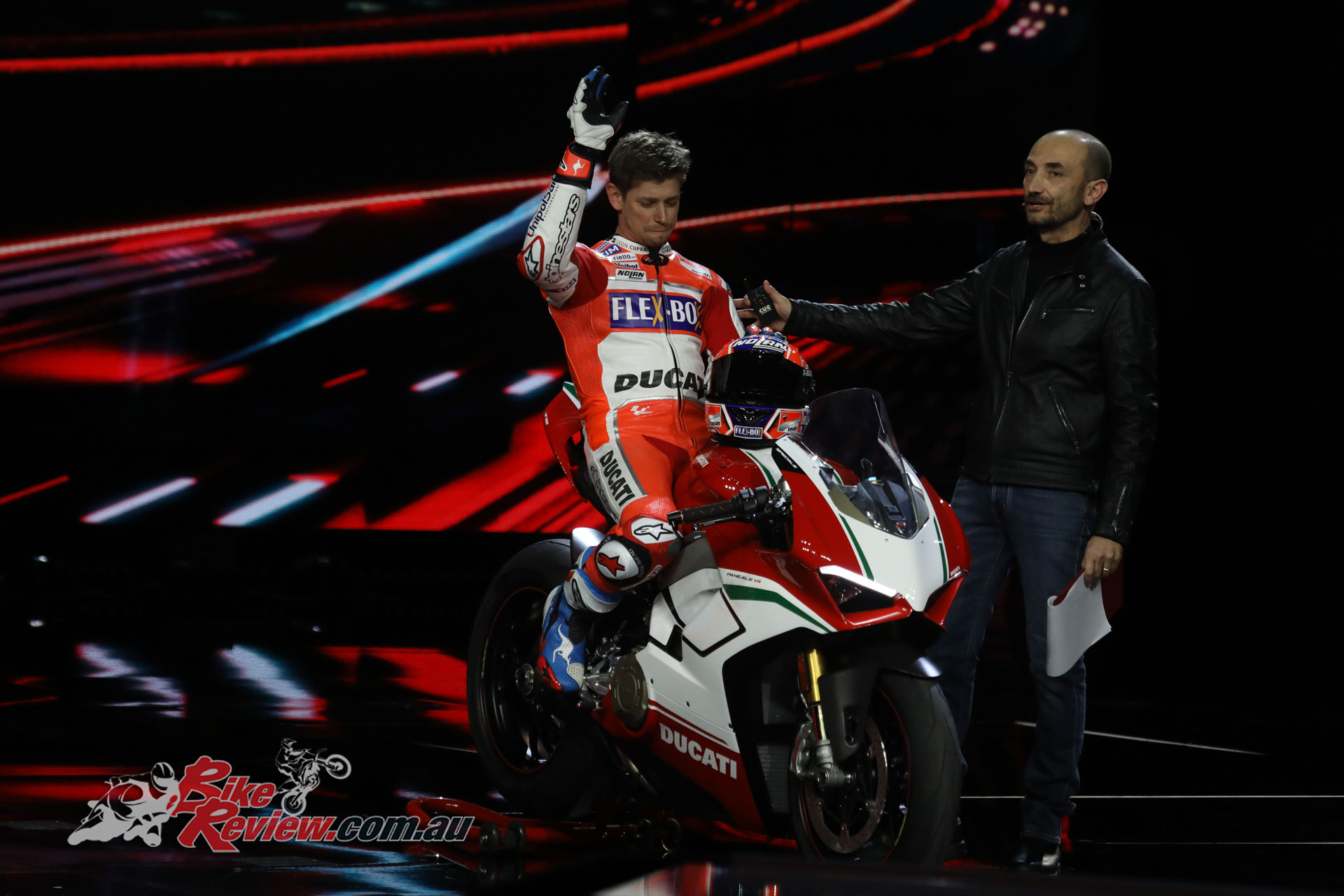 Casey Stoner brought out the limited edition Panigale V4 Speciale