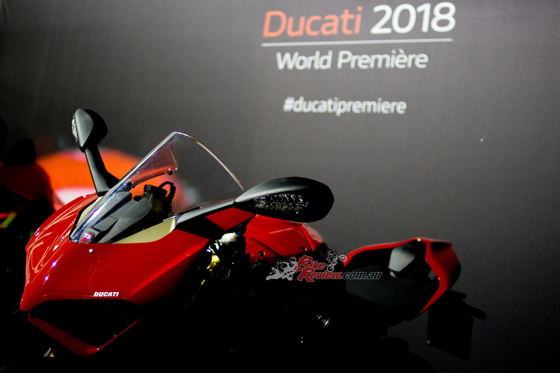 Ducati premiered their new V4 variants