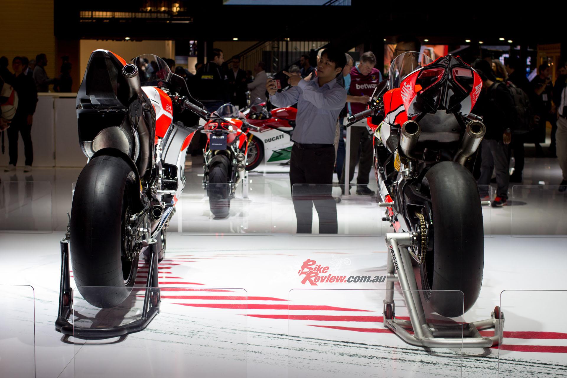 Ducati's EICMA display