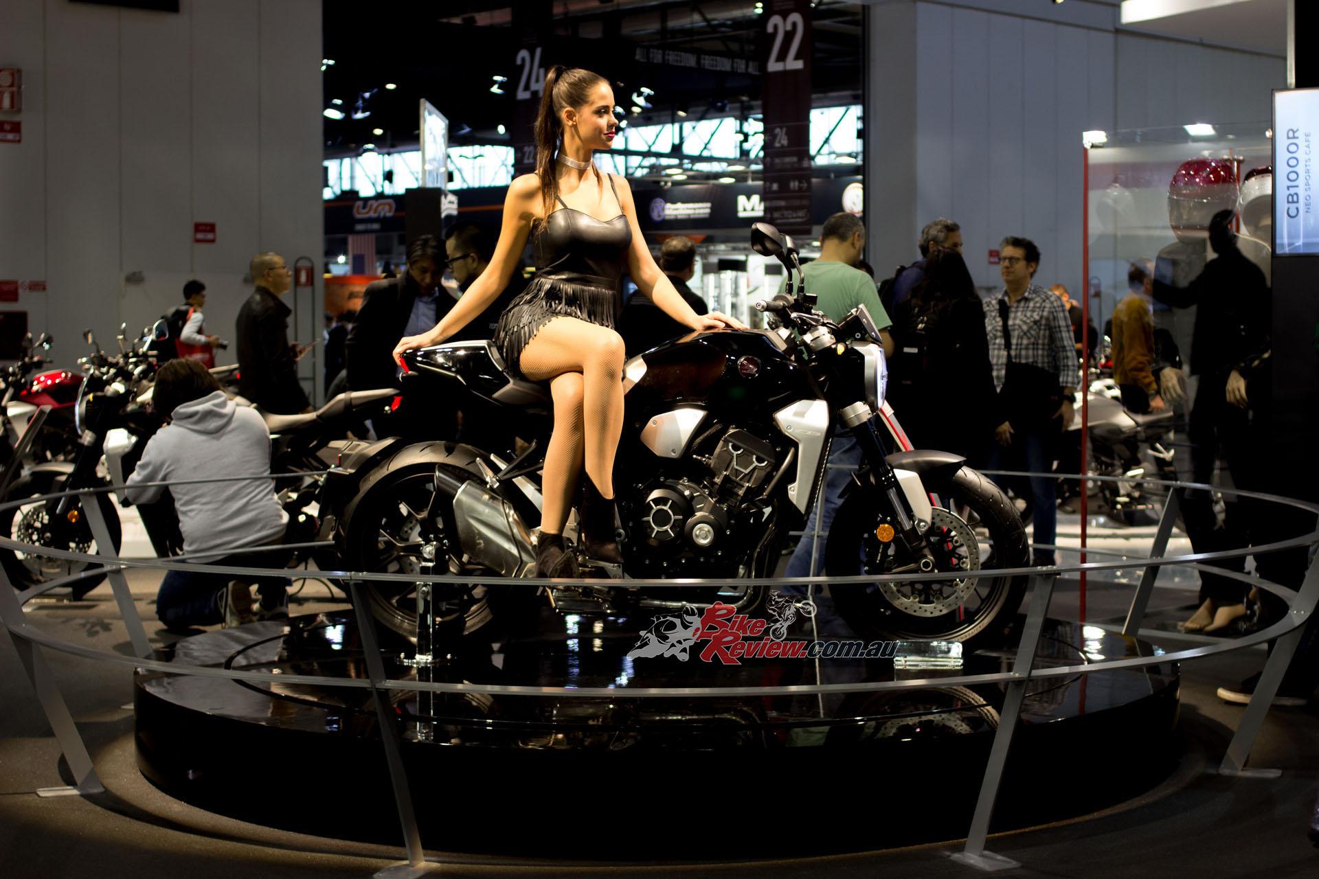 Honda unveiled their CB1000R