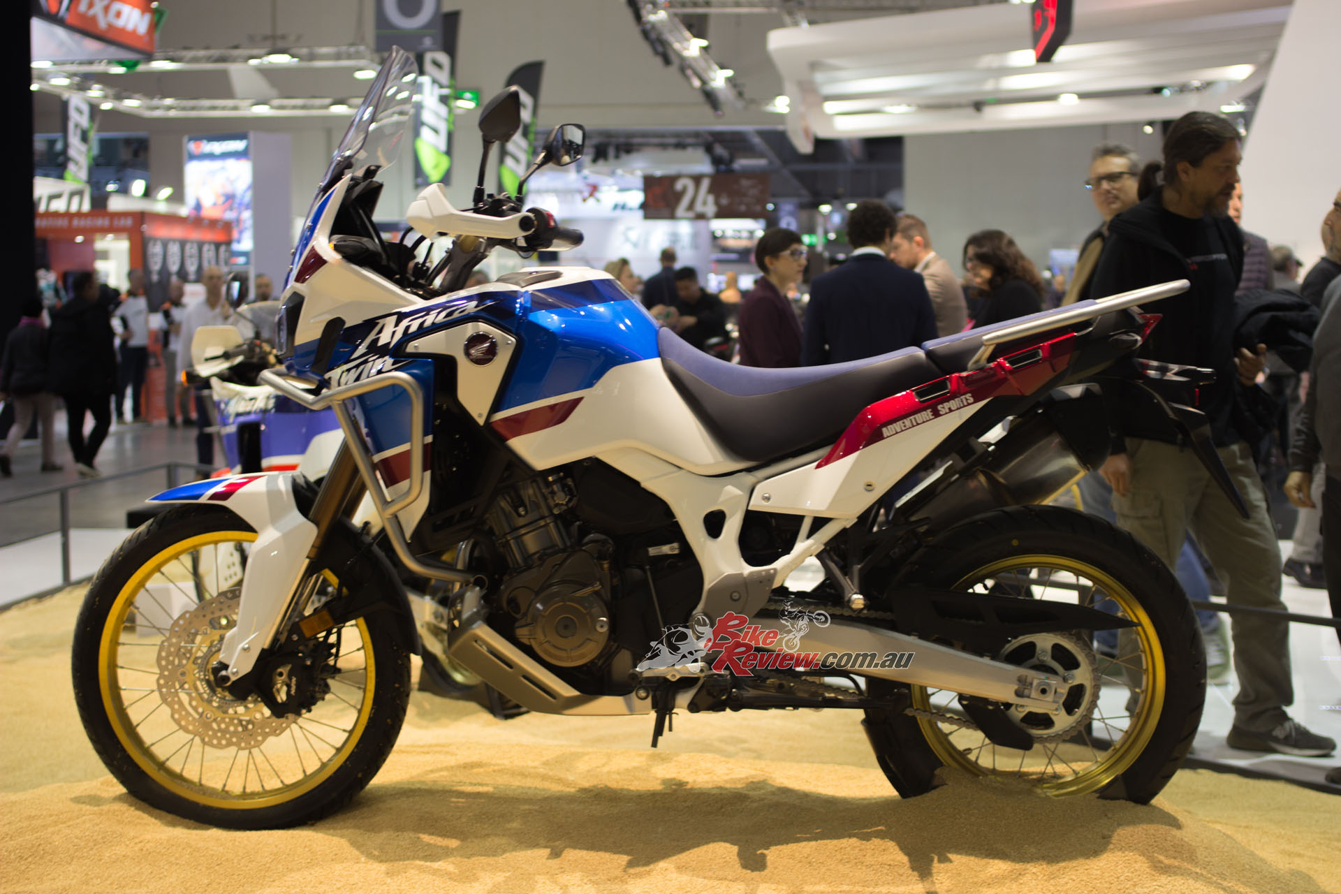 The Africa Twin Adventure Sport