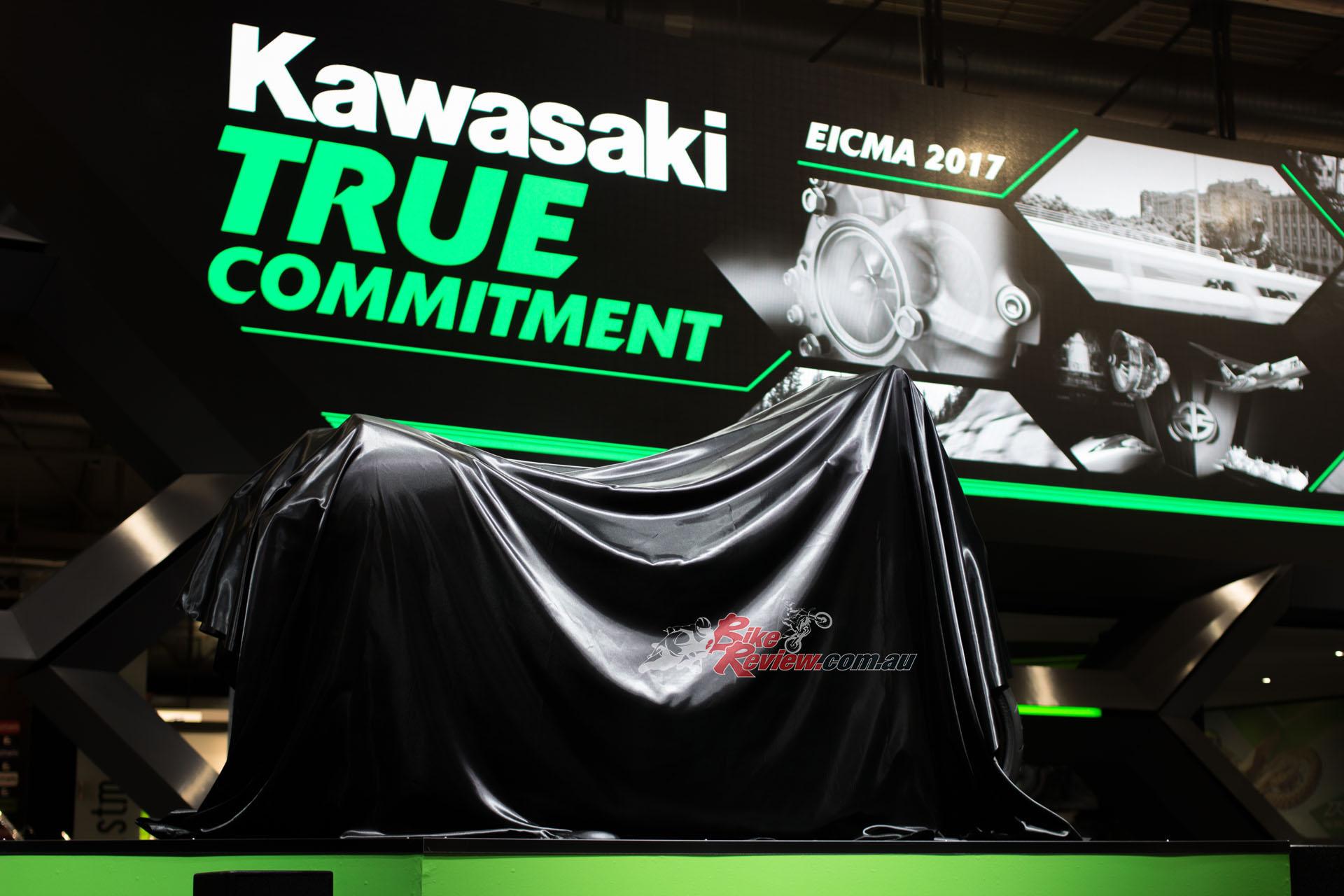 Kawasaki at EICMA