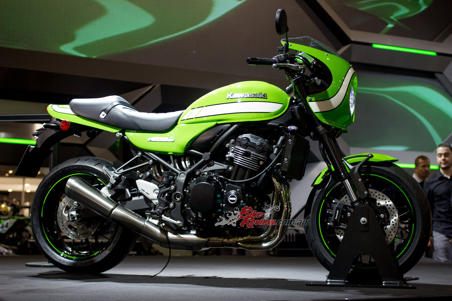 Kawasaki unveil their Z900RS and Cafe (pictured)