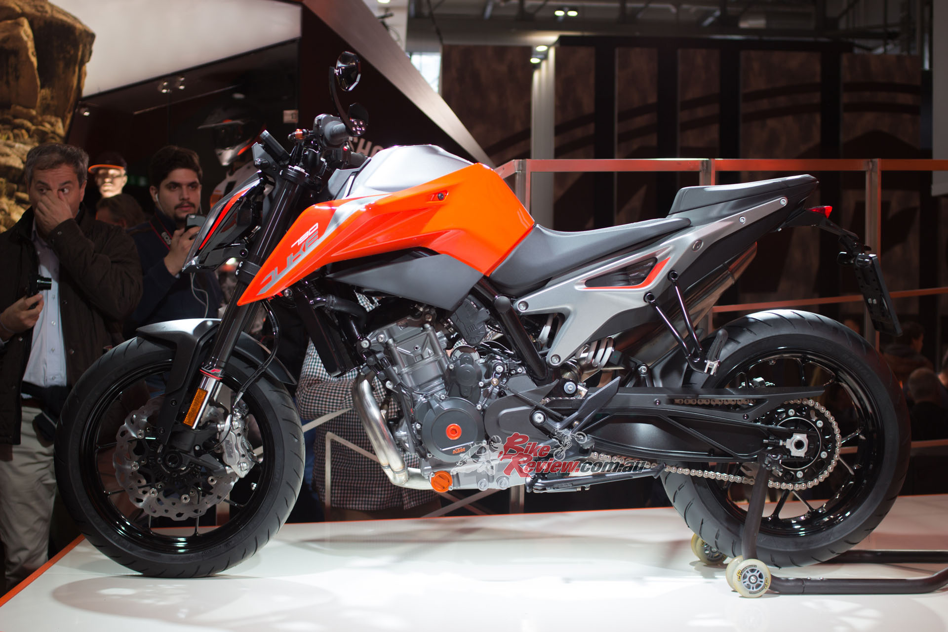 KTM's on road offerings expanded to include the 790 Duke