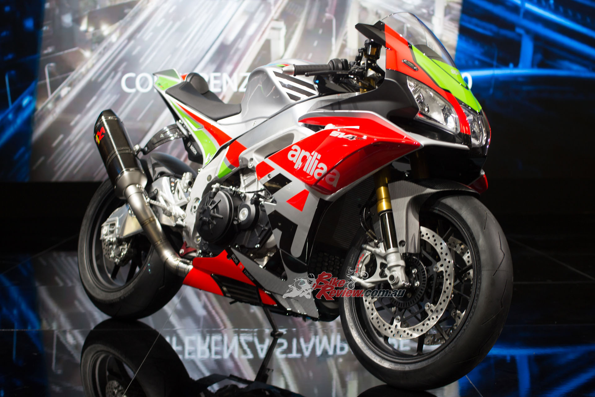 Aprilia unveiled the Racing Factory Works Kit for the RSV4
