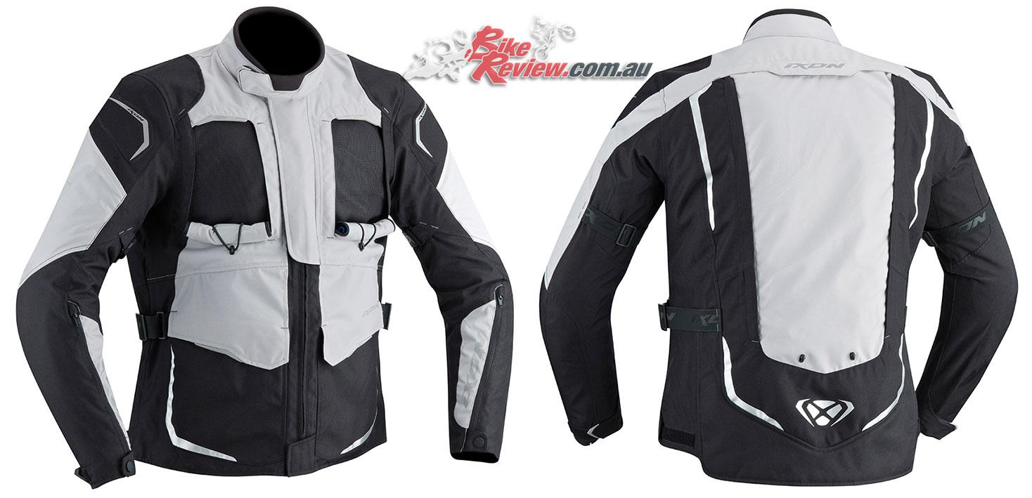 Ixon Cross Air 2.0 Jacket in Black/Grey