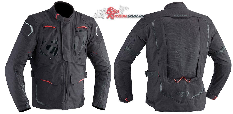 Ixon Cross Air 2.0 Jacket in Black